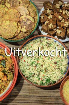Helaas uitverkocht, kijk snel verder voor nieuwe workshops, nieuwe feest gerechten
